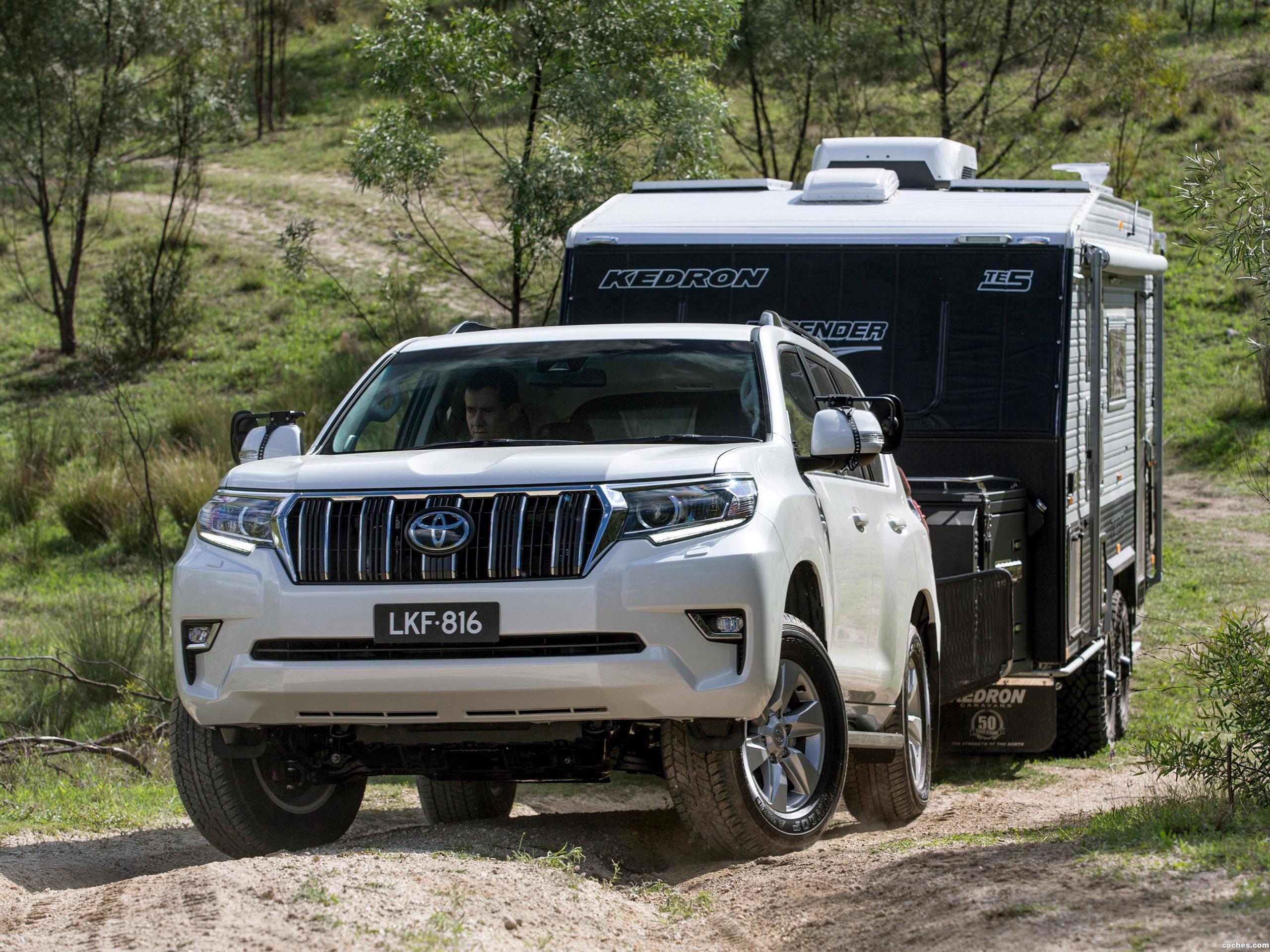 Foto 2 de Toyota Land Cruiser Prado GXL Australia  2017