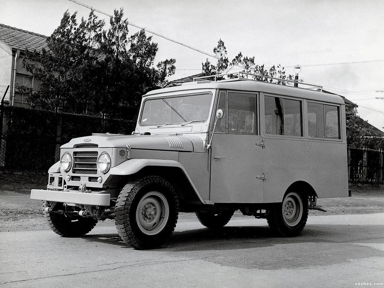 Foto 0 de Toyota Land Cruiser Station Wagon FJ28L 1956