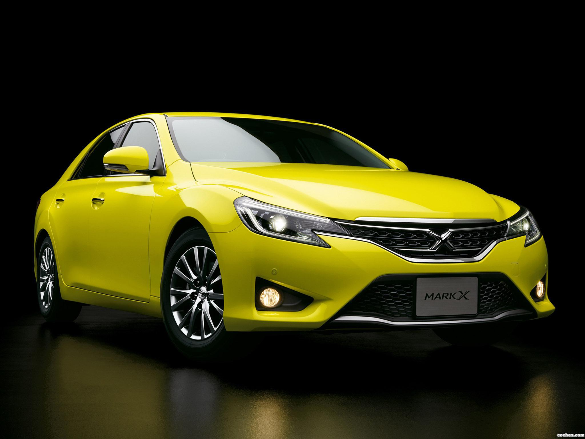 Foto 0 de Toyota Mark-X 250G S Package Yellow Label GRX130 2014