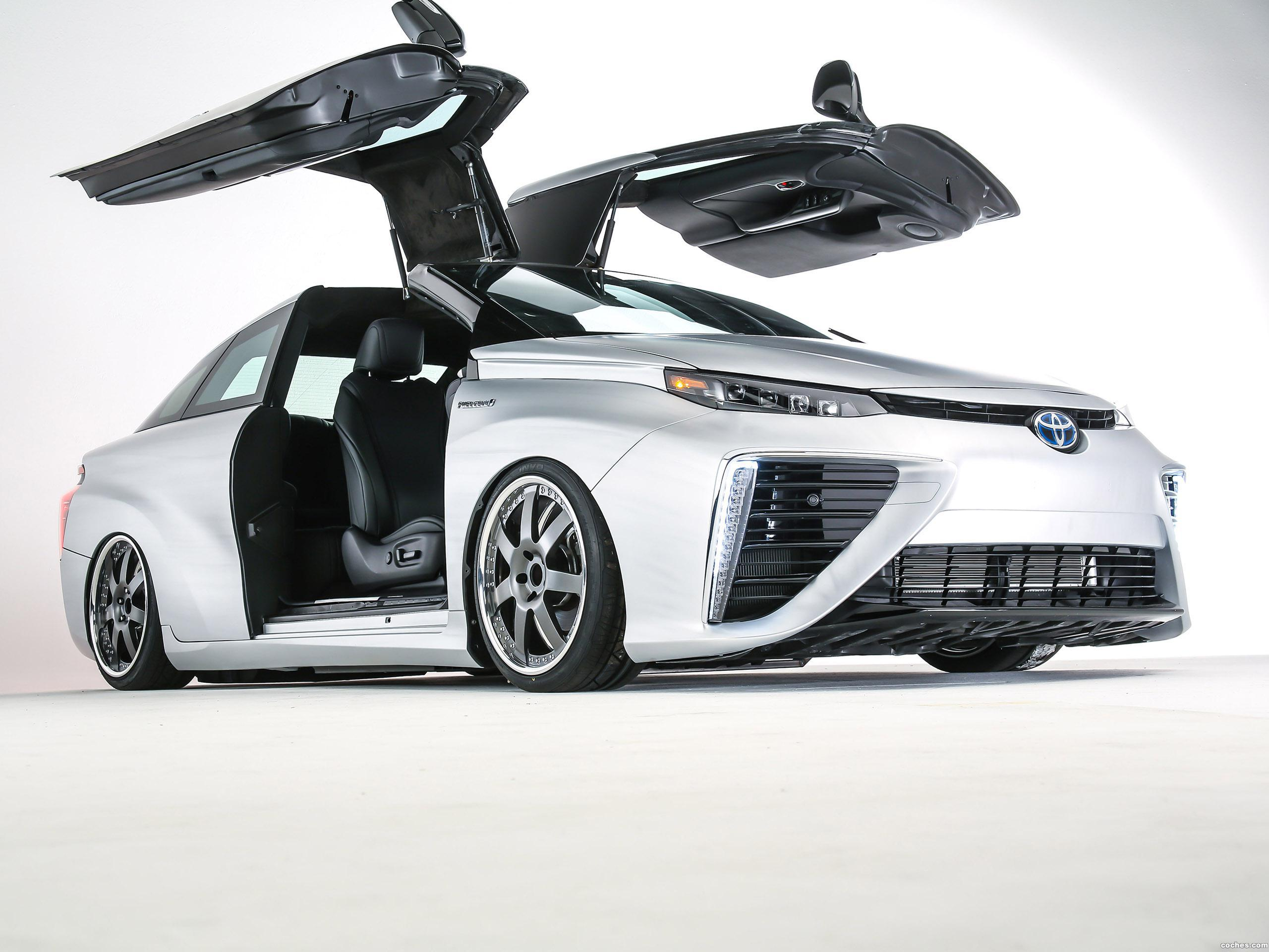 Foto 0 de Toyota Mirai Back To The Future 2015