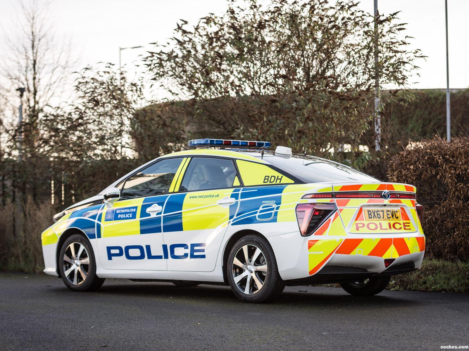 Foto 2 de Toyota Mirai Police UK  2018
