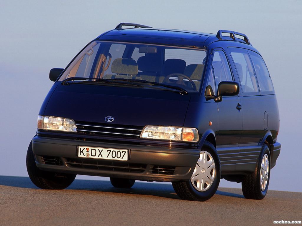 Foto 0 de Toyota Previa 1990