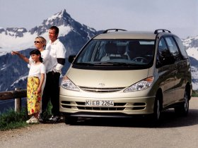 Ver foto 3 de Toyota Previa 2000