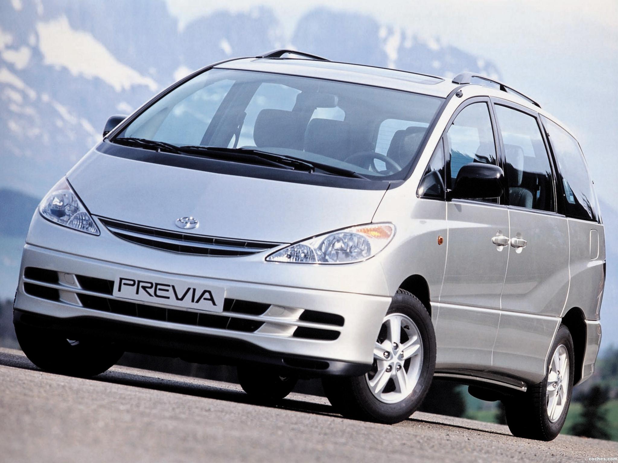 Foto 0 de Toyota Previa 2000