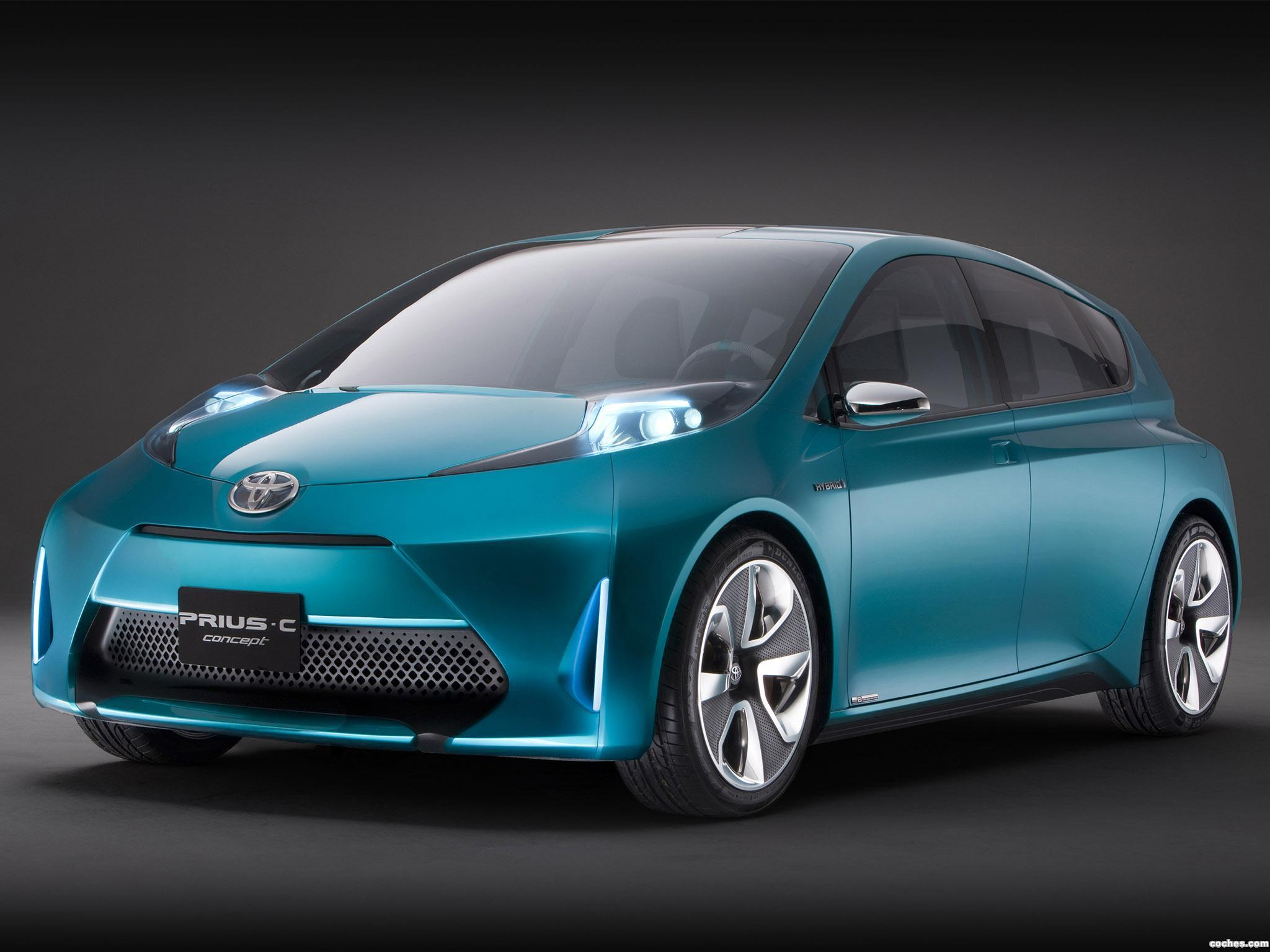 Foto 0 de Toyota Prius C Concept 2011