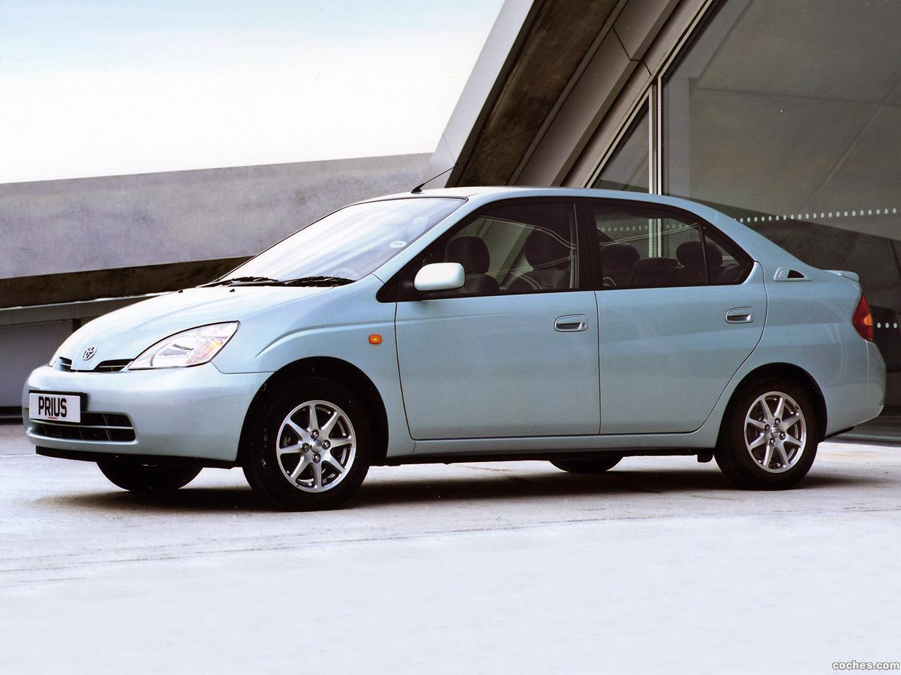 Foto 8 de Toyota Prius NHW11 UK 2001