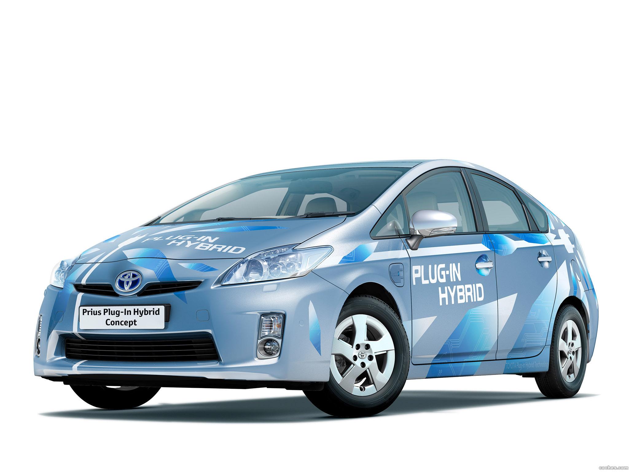 Foto 0 de Toyota Prius Plug in Hybrid Concept 2009