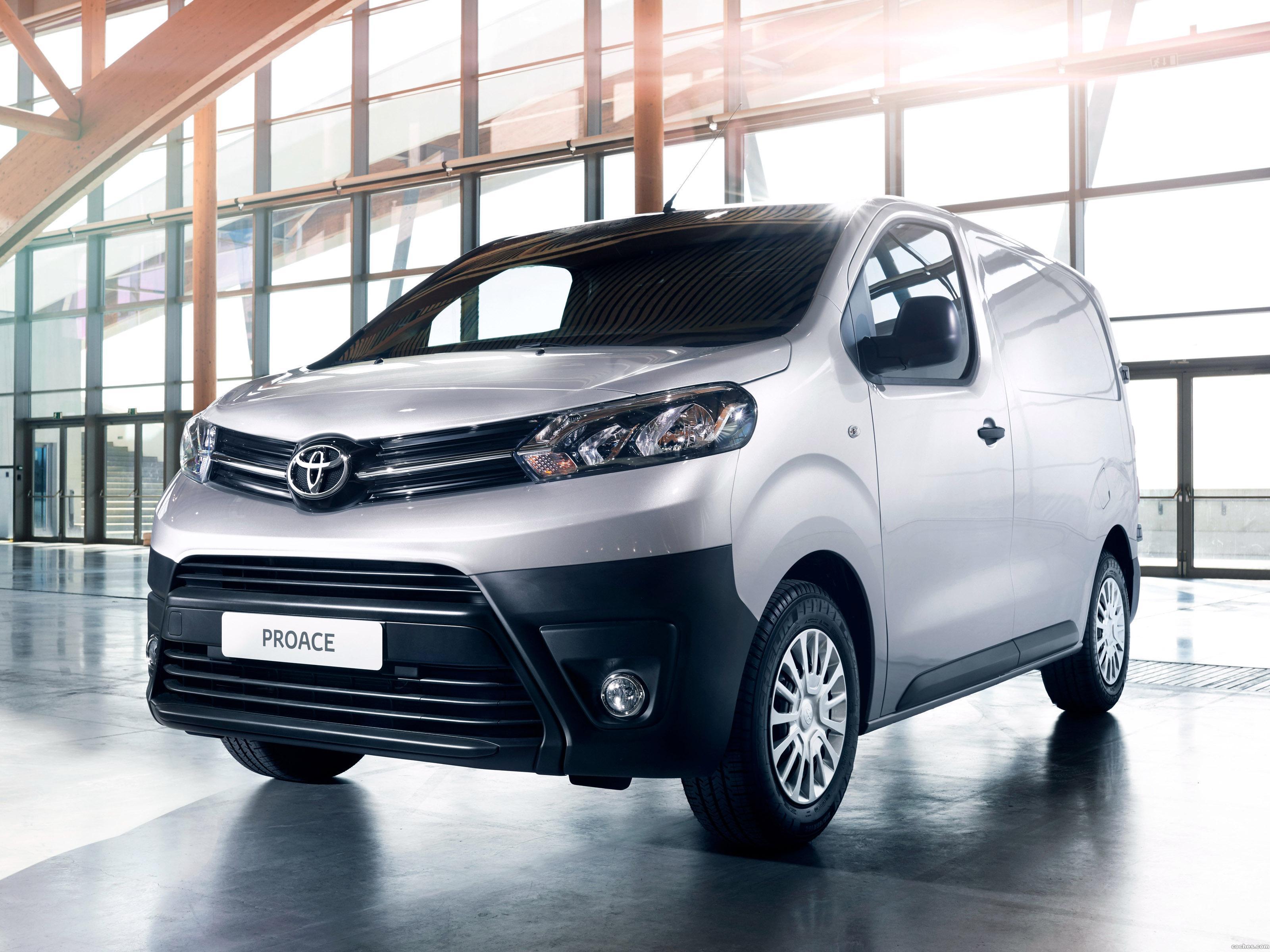 Foto 0 de Toyota Proace Van Compact 2016