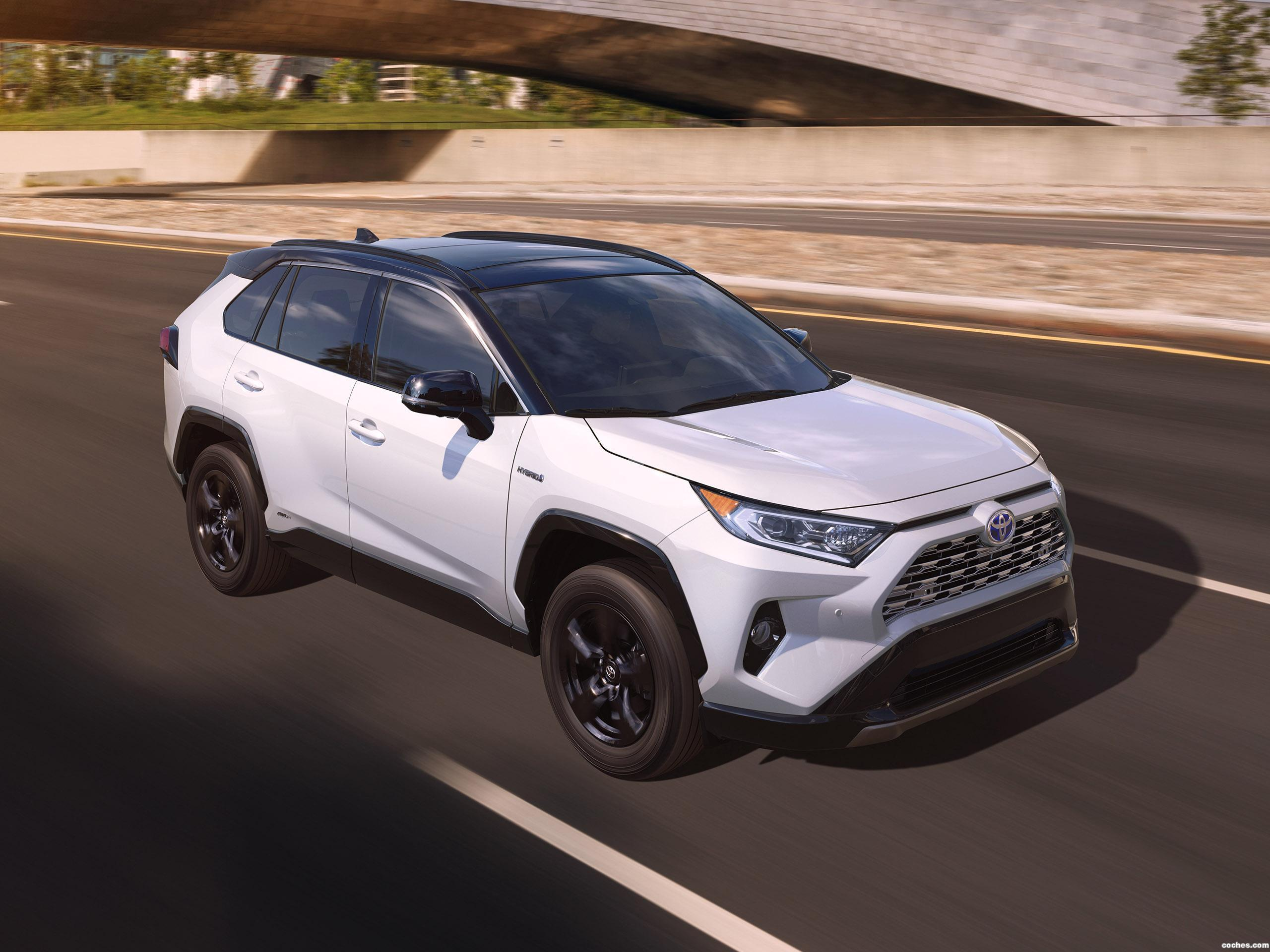 Foto 0 de Toyota RAV4 XSE Hybrid USA 2018