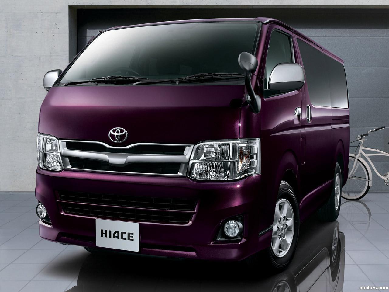 Foto 0 de Toyota Hiace Regius Super GL Prime Selection 2012