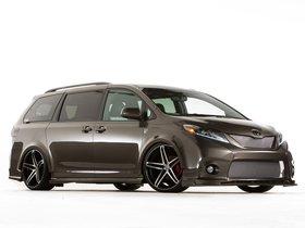 Ver foto 1 de Toyota Sienna Dub Edition Concept 2014