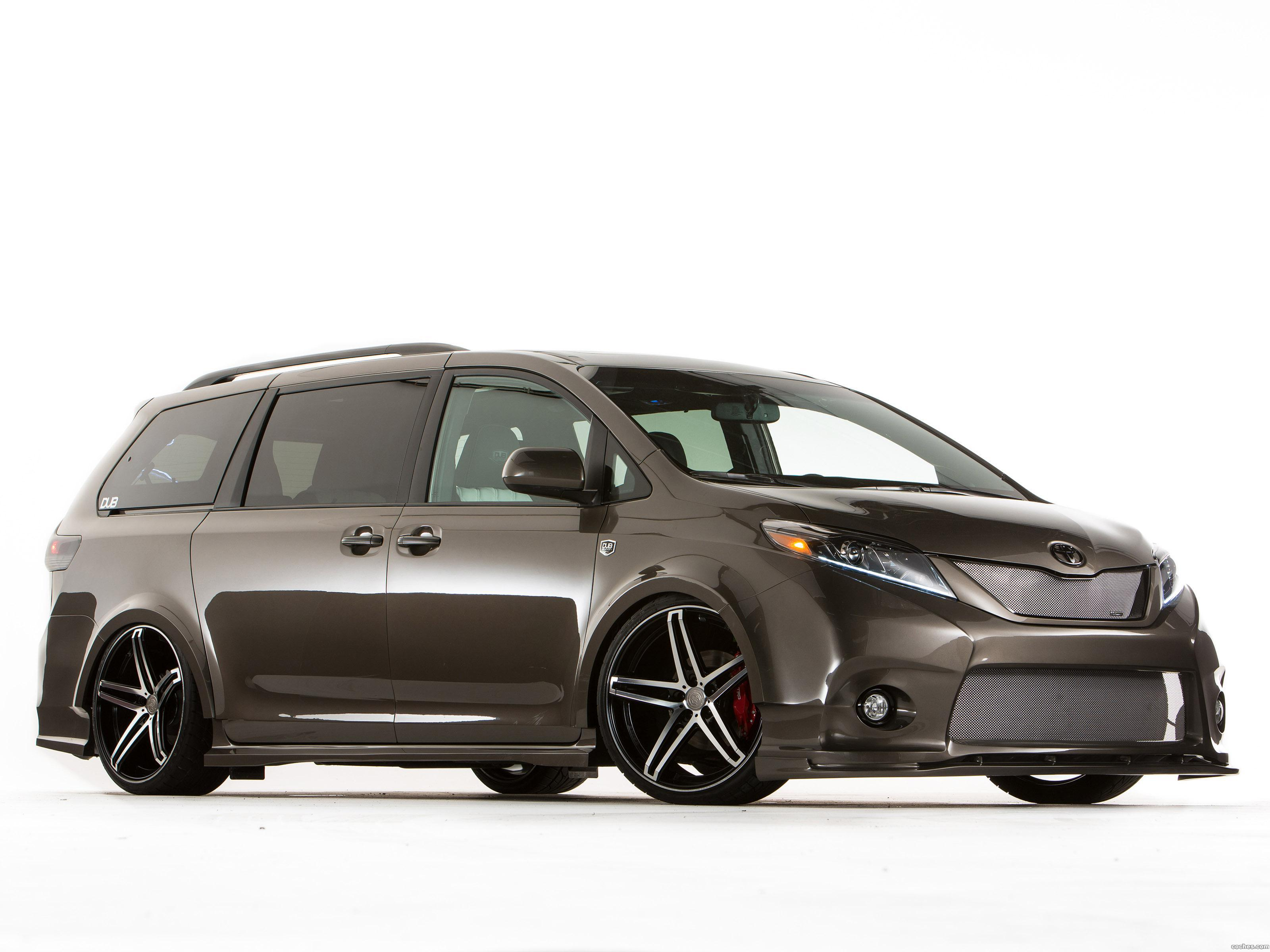 Foto 0 de Toyota Sienna Dub Edition Concept 2014