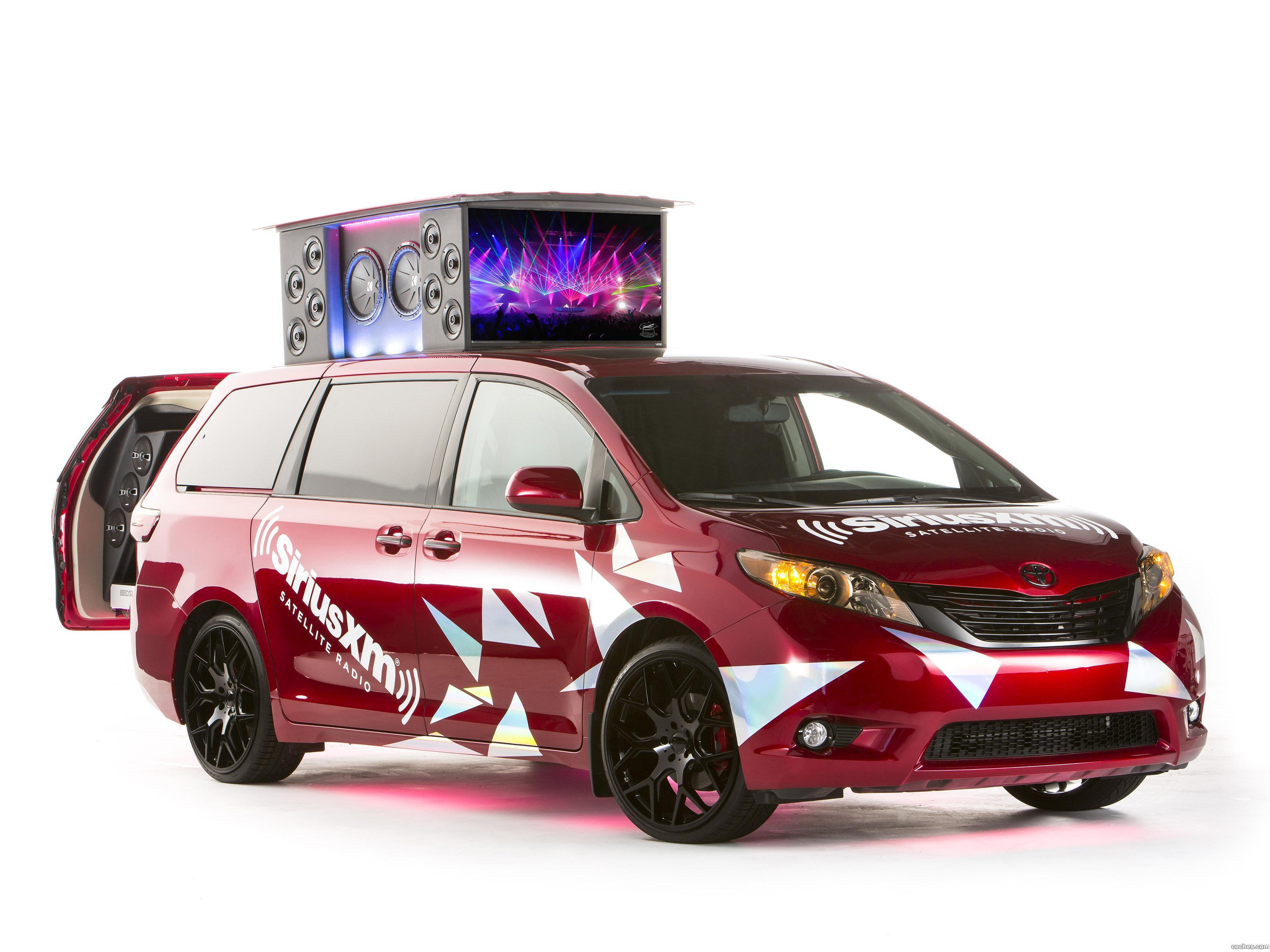 Foto 0 de Toyota Sienna Remix Concept 2014