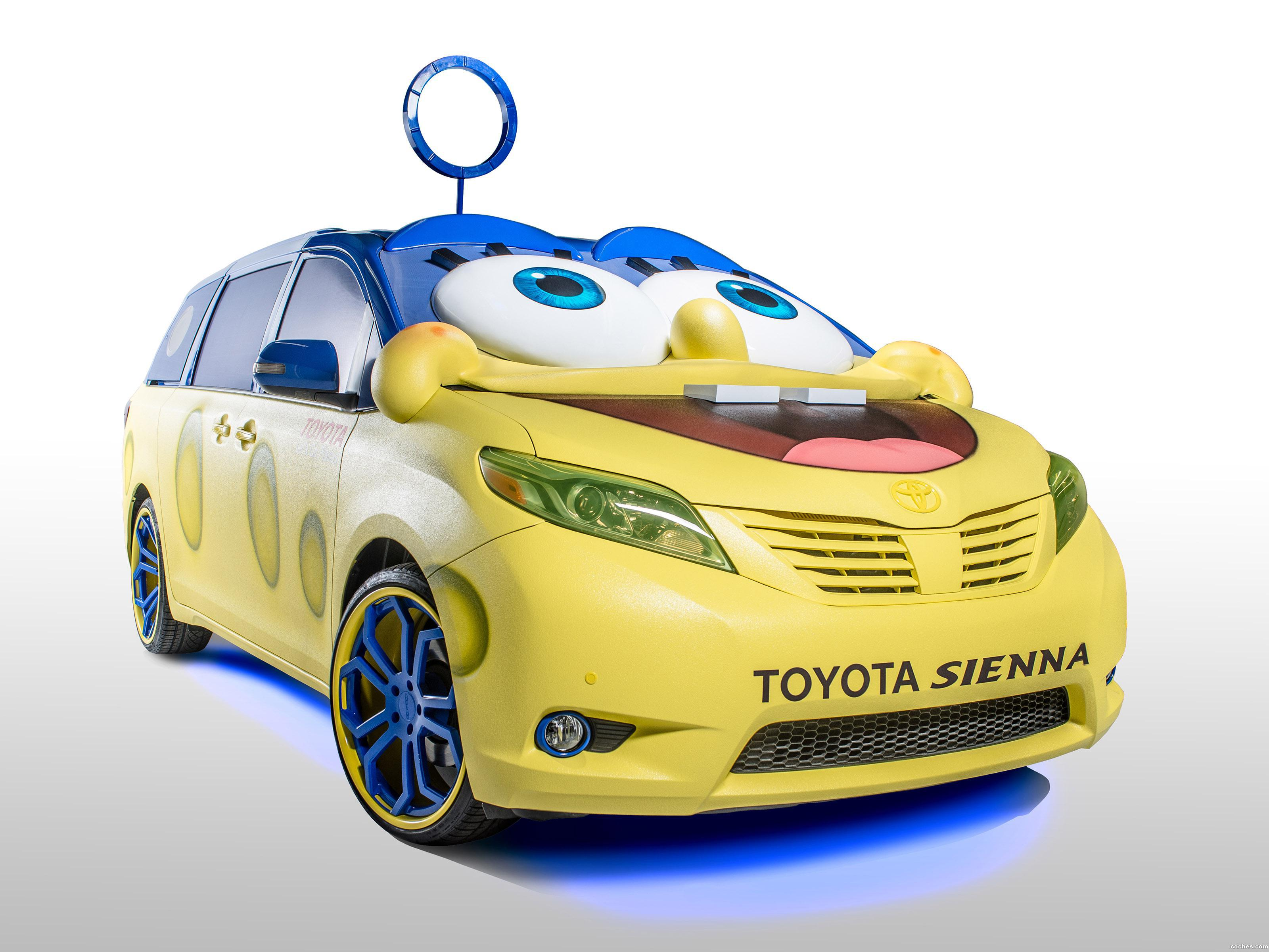 Foto 0 de Toyota Sienna Spongebob Movie Car 2014