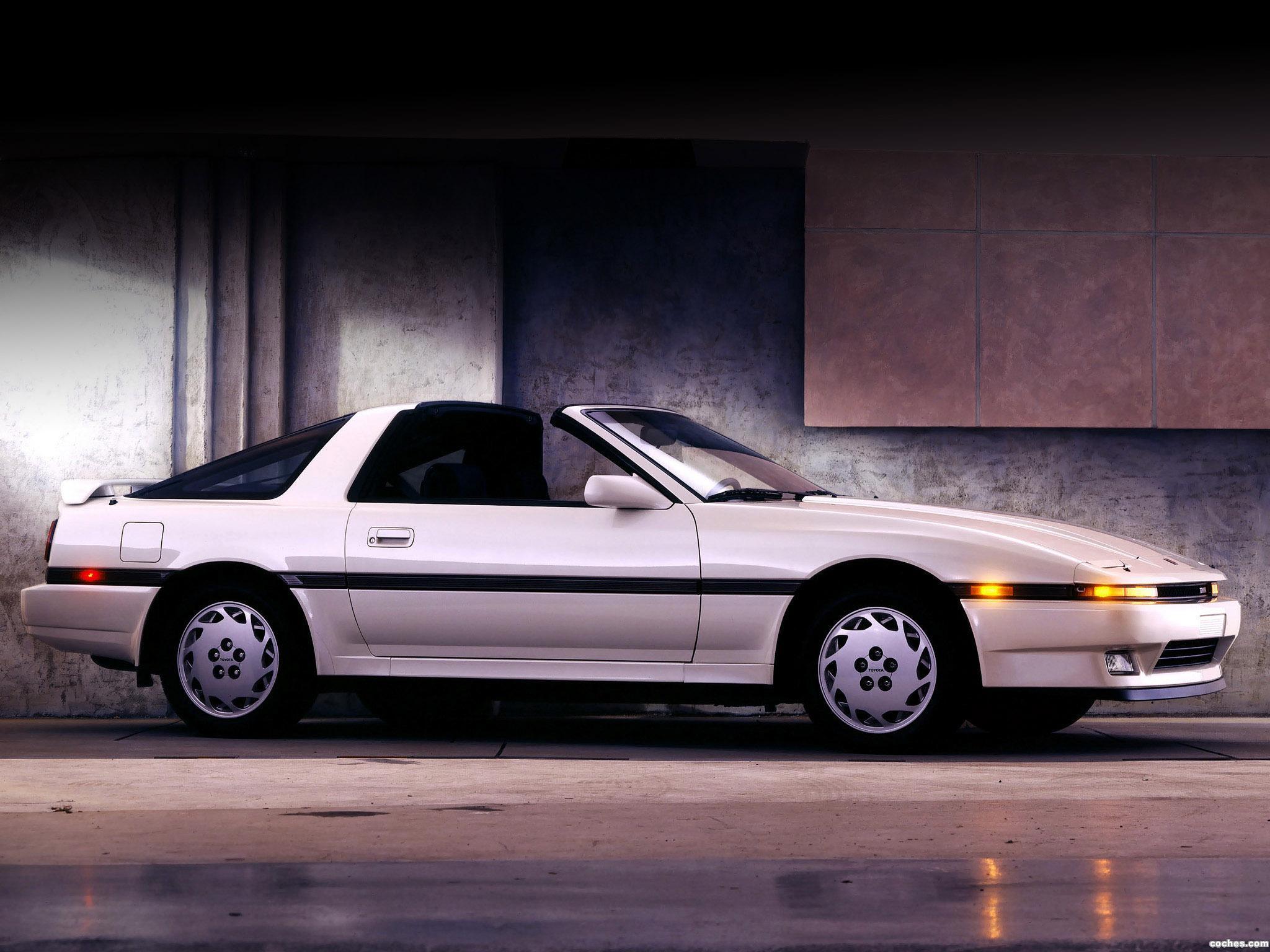 Foto 3 de Toyota Supra 3.0 Turbo Sport Roof USA MA70 1987