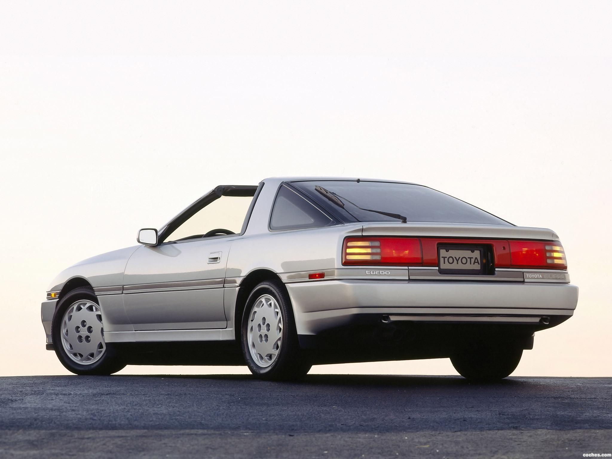 Foto 4 de Toyota Supra 3.0 Turbo Sport Roof USA MA70 1989