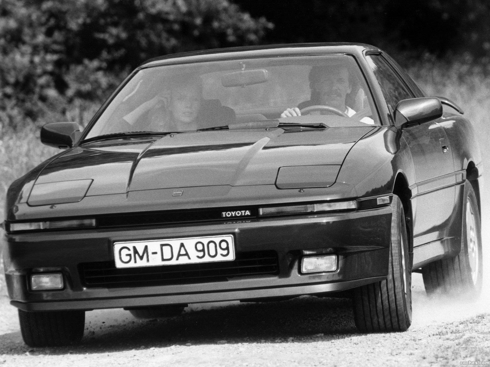 Foto 0 de Toyota Supra Liftback Europe MA70 1986