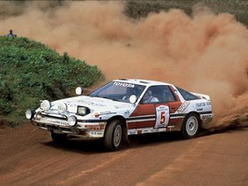 Fotos de Toyota Supra Liftback Safari Rally A70 1987
