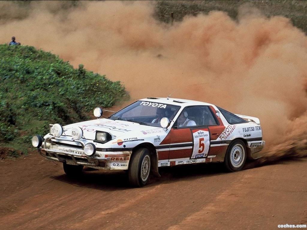 Foto 0 de Toyota Supra Liftback Safari Rally A70 1987