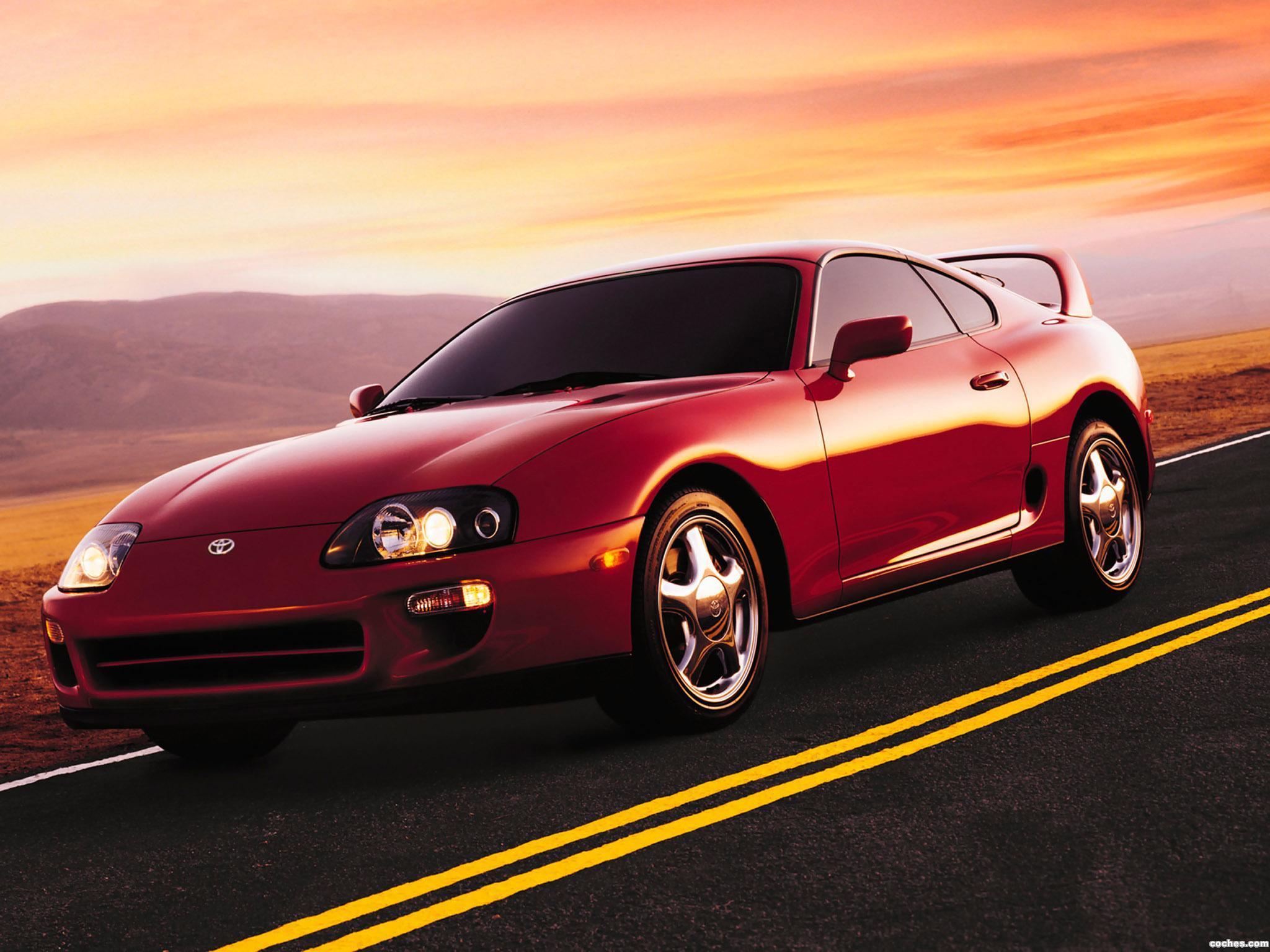 Foto 2 de Toyota Supra Turbo Sport Roof USA JZA80 1997