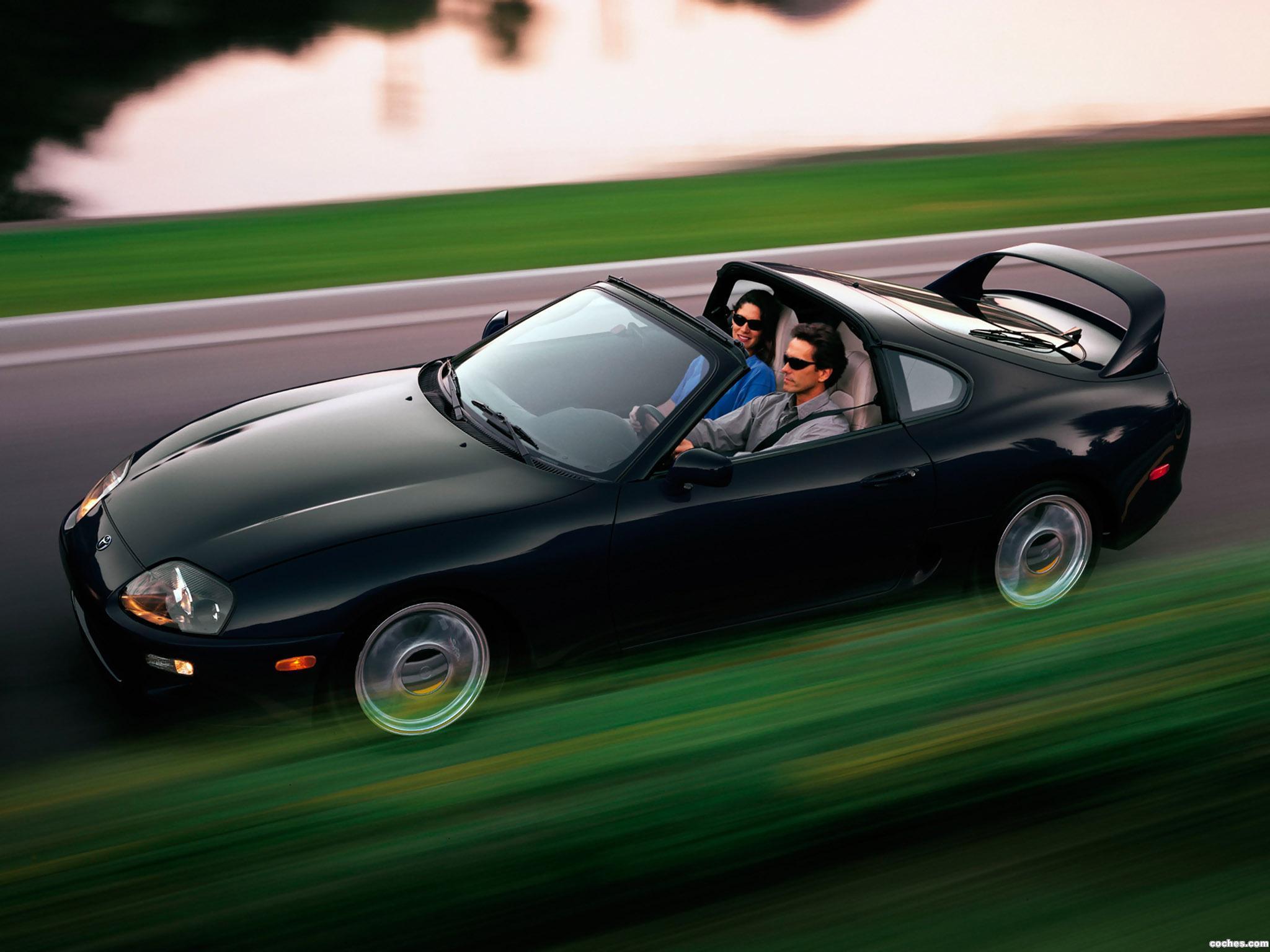 Foto 1 de Toyota Supra Turbo Sport Roof USA JZA80 1997