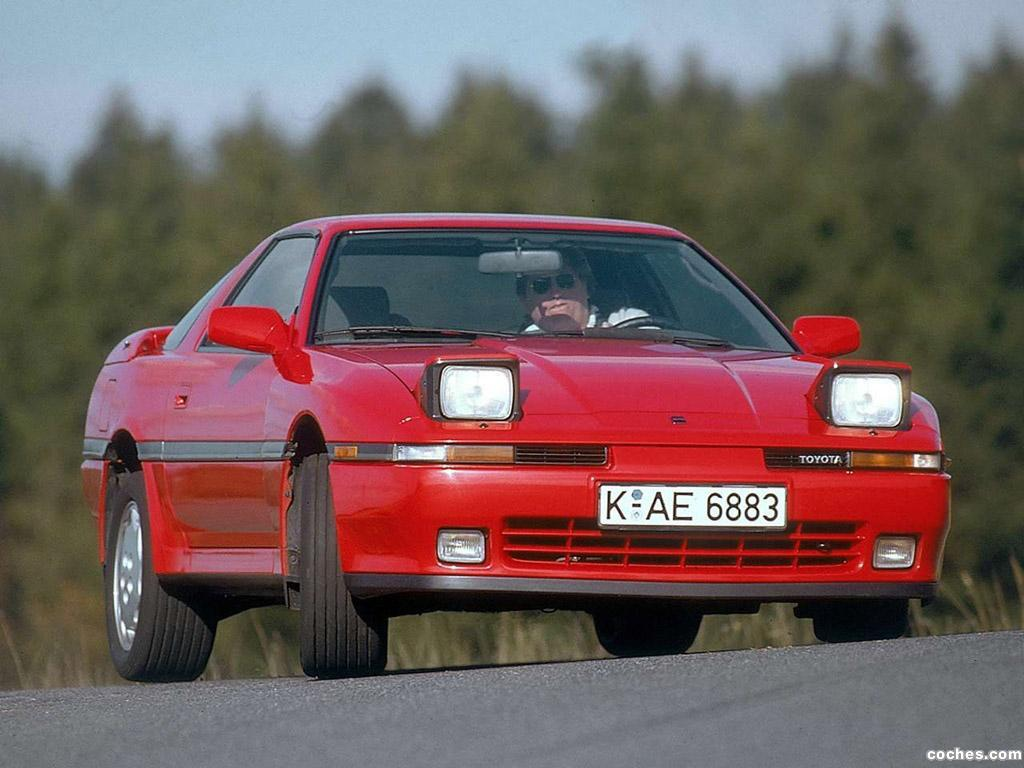 Foto 0 de Toyota Supra Turbo Targa Top Europe MA70 1989