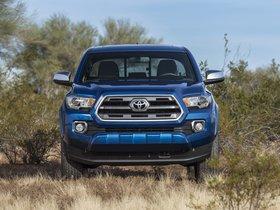 Ver foto 3 de Toyota Tacoma Limited Double Cab 2015