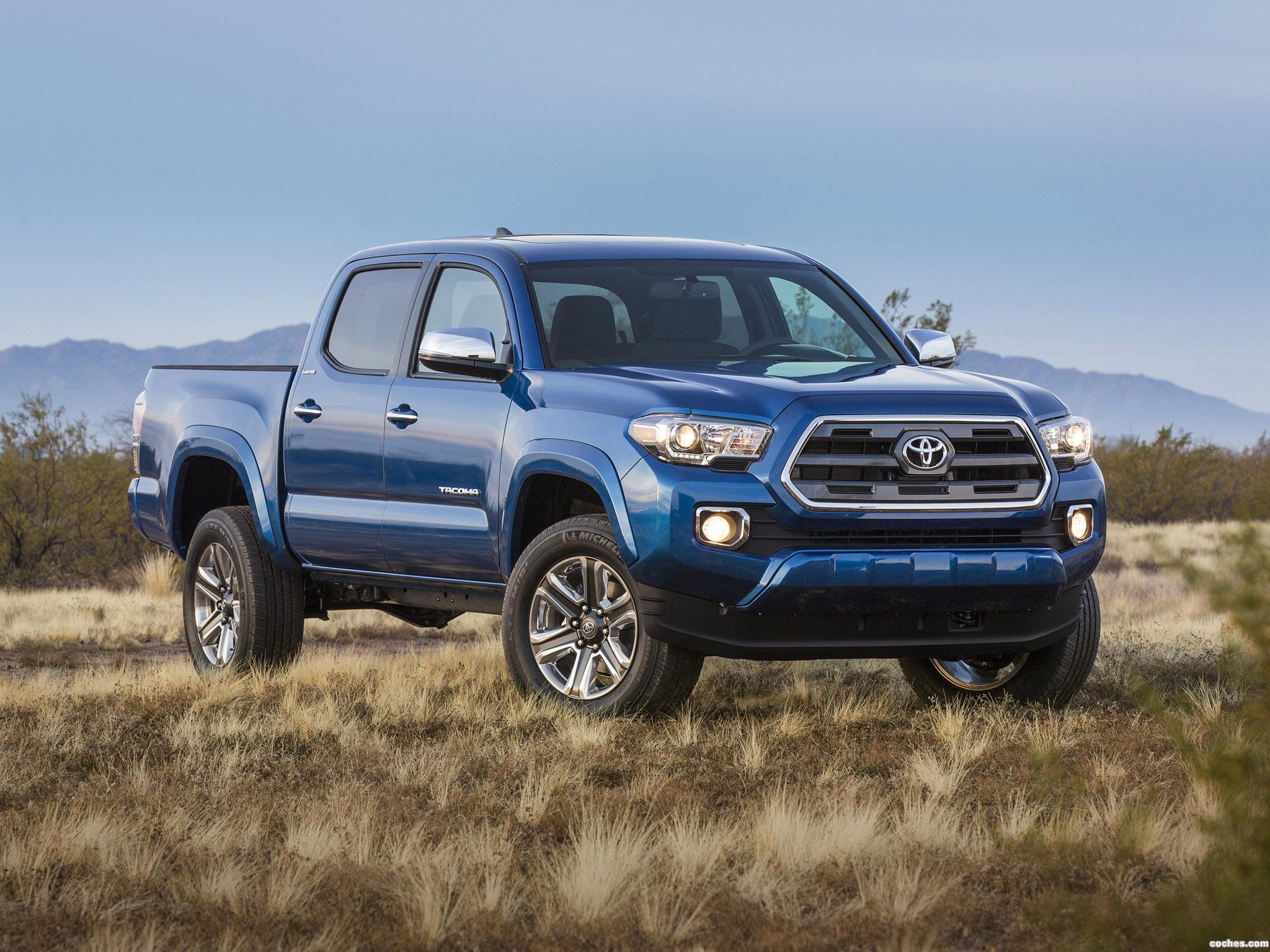 Foto 0 de Toyota Tacoma Limited Double Cab 2015