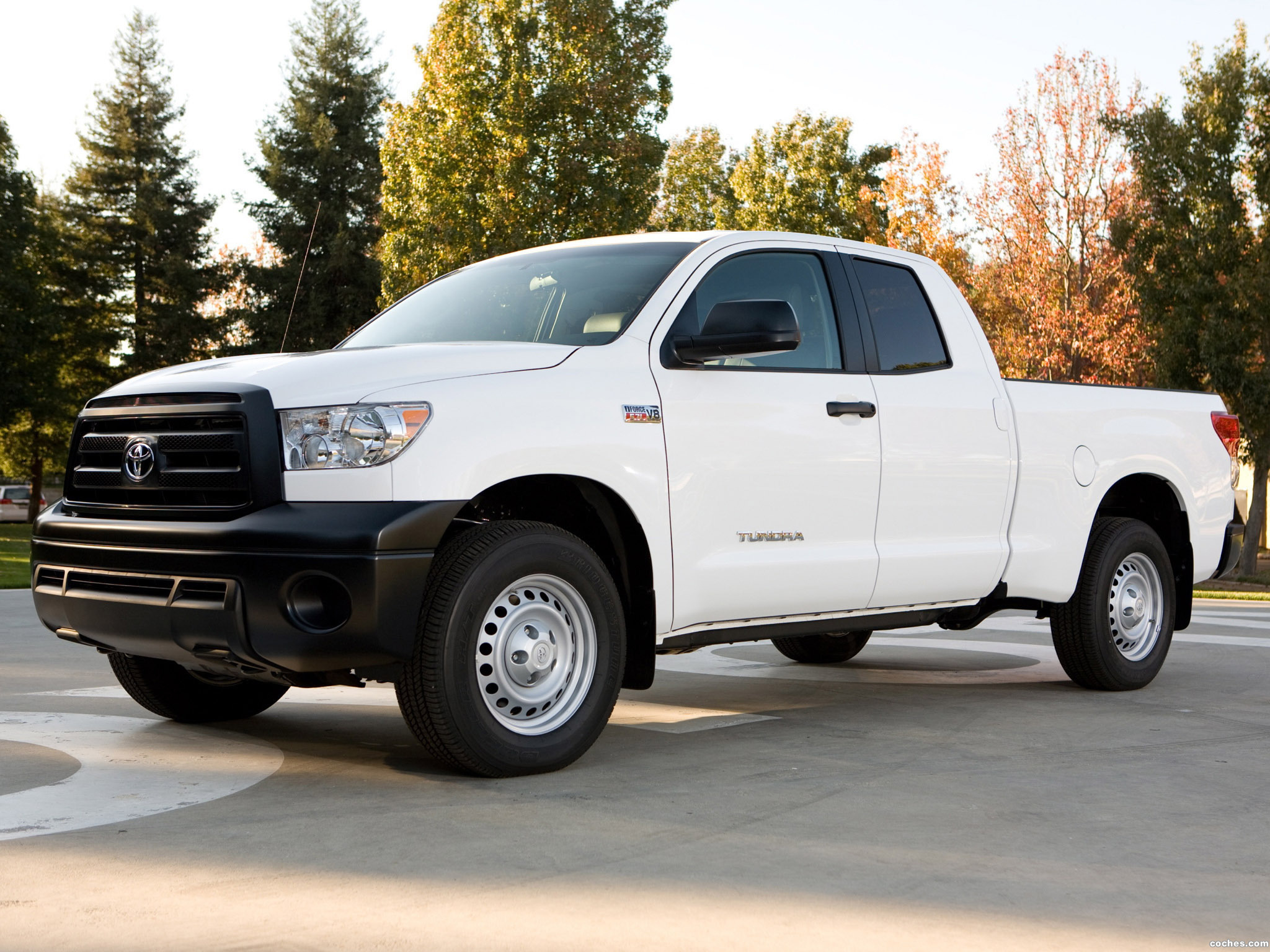 Foto 0 de Toyota Tundra Double Cab Work Truck Package 2009