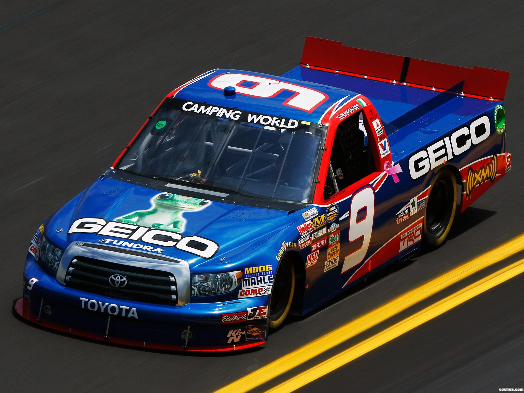Foto 0 de Toyota Tundra Nascar Camping World Series Truck 2009