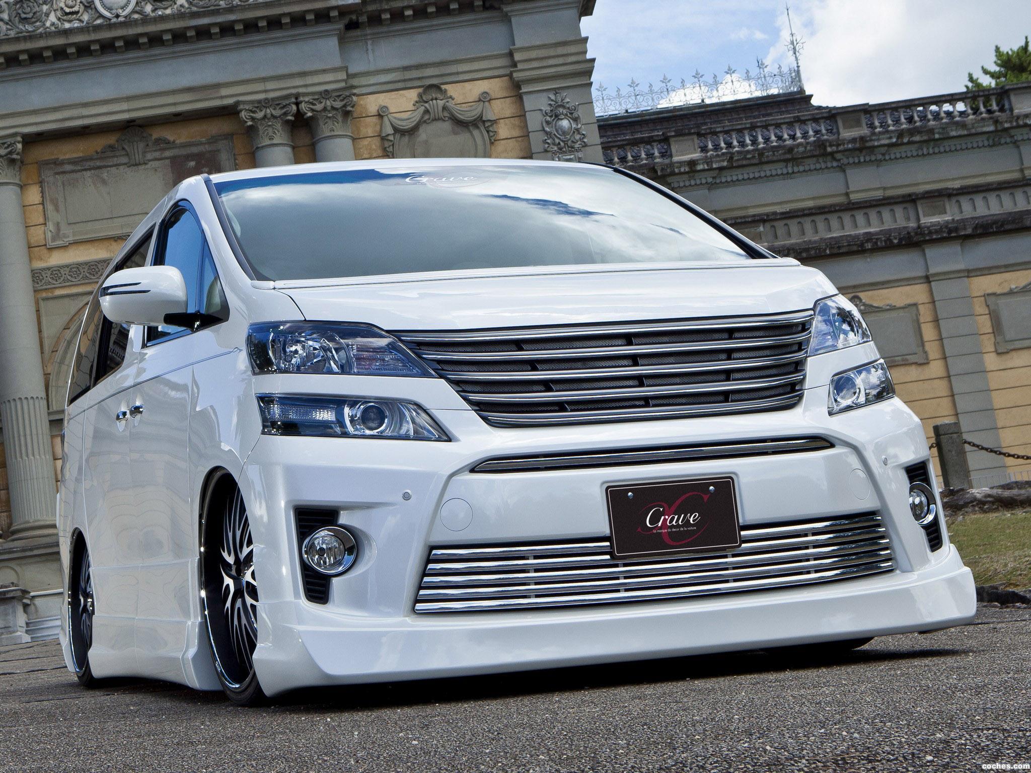 Foto 0 de Toyota Vellfire by Crave 2012