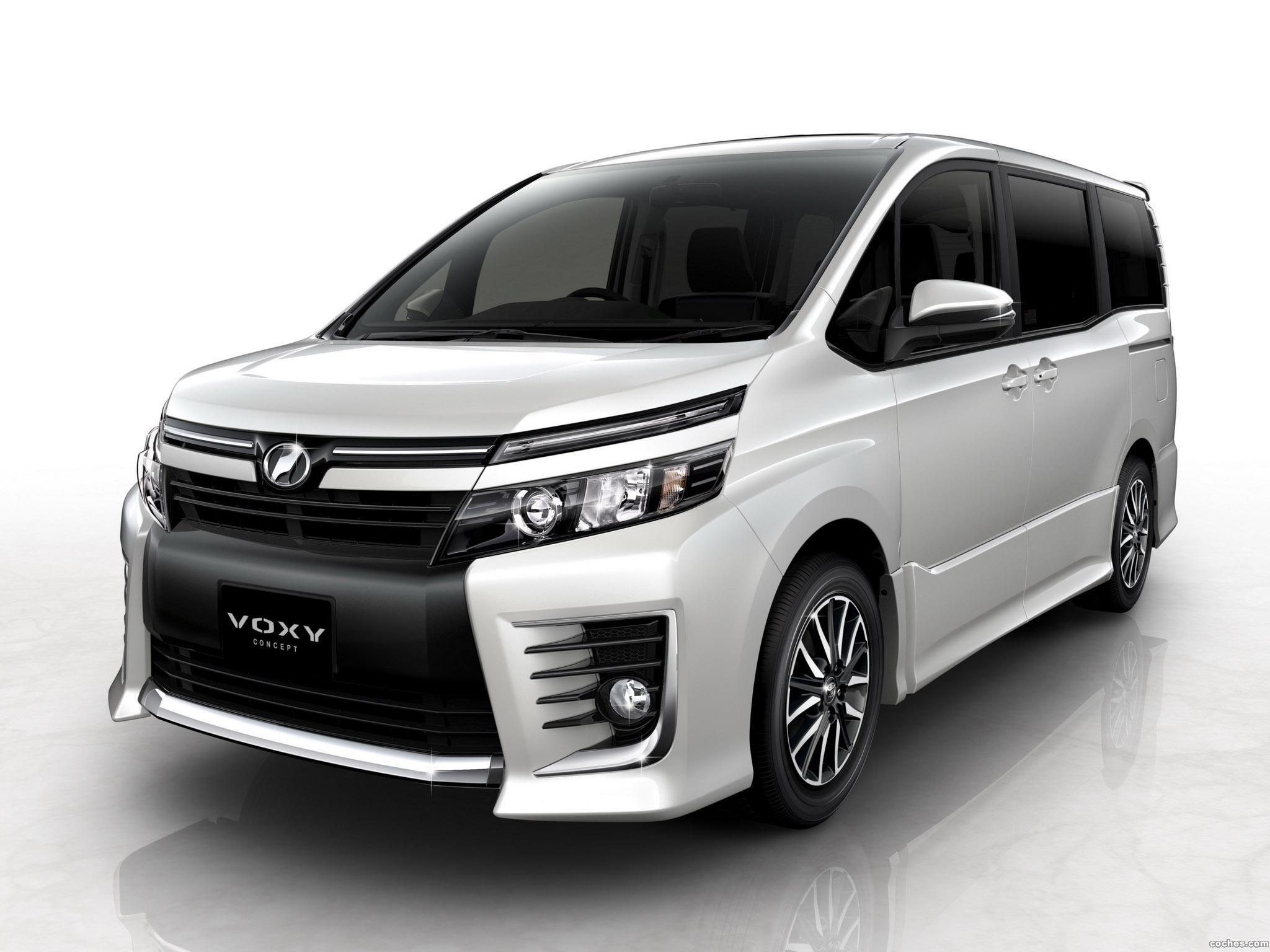 Foto 0 de Toyota Voxy Concept 2013