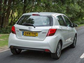 Ver foto 4 de Toyota Yaris 5 puertas UK 2014