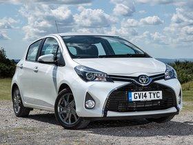 Ver foto 1 de Toyota Yaris 5 puertas UK 2014