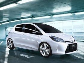 Ver foto 2 de Toyota Yaris HSD Concept 2011