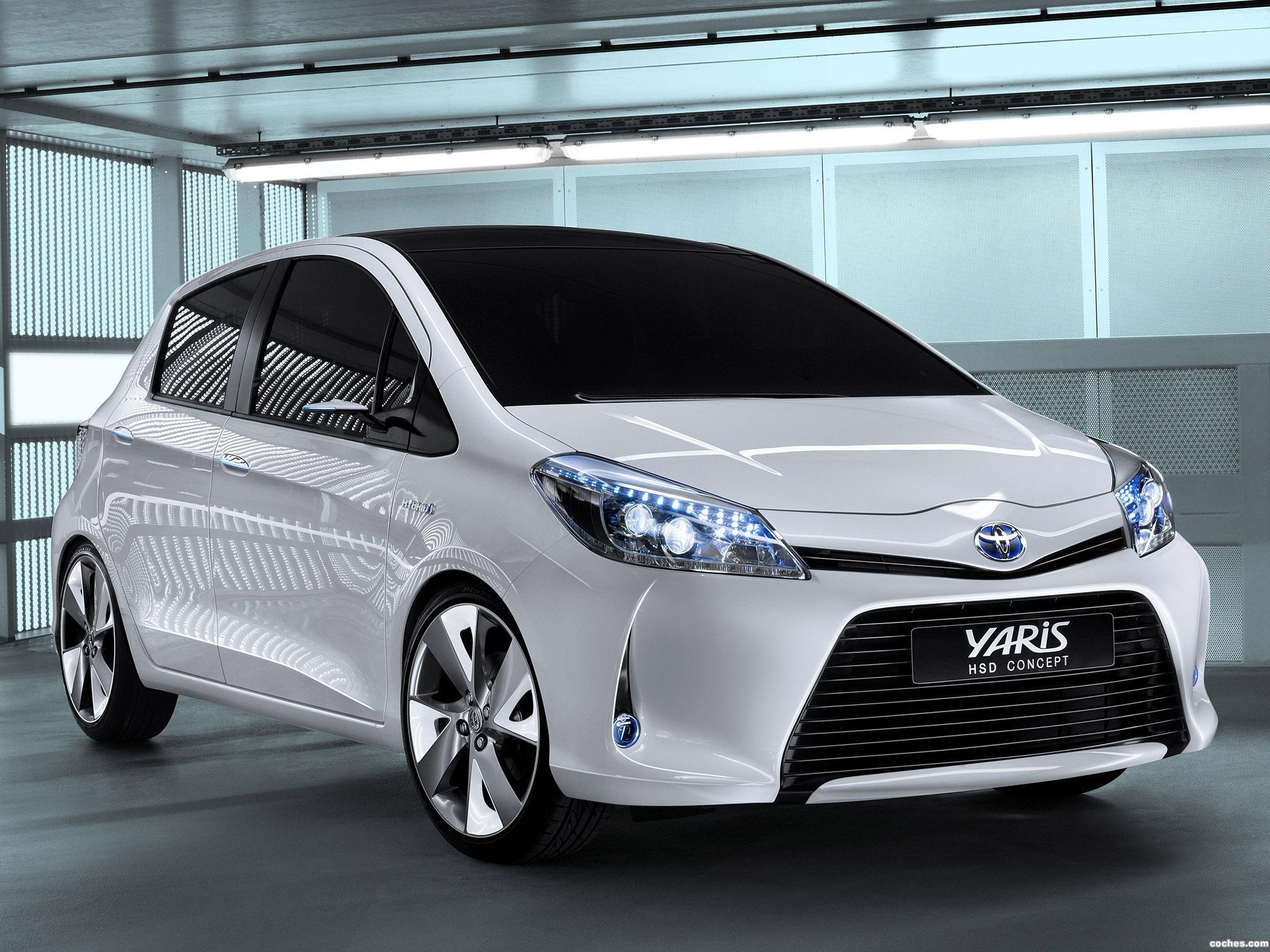 Foto 0 de Toyota Yaris HSD Concept 2011