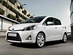 Ver foto 3 de Toyota Yaris Hybrid 2012