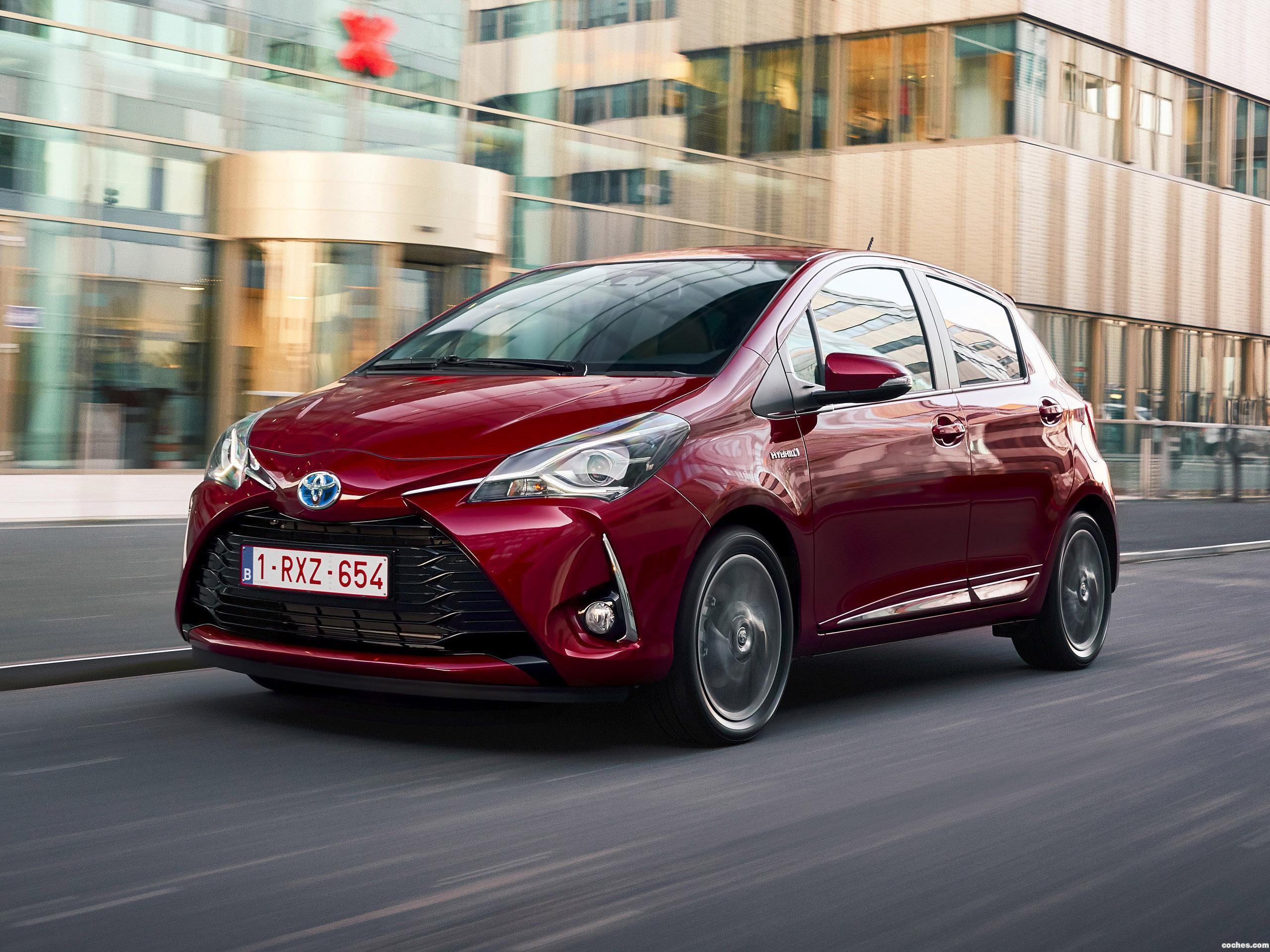Foto 8 de Toyota Yaris Hybrid 2017