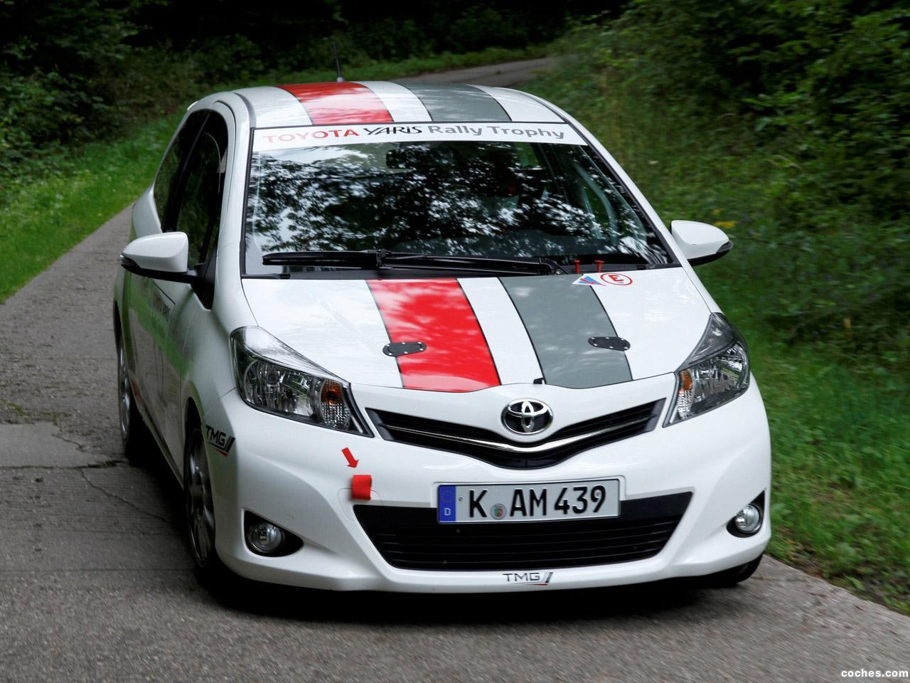 Foto 0 de Toyota Yaris R1A TMG Rally Car 2012
