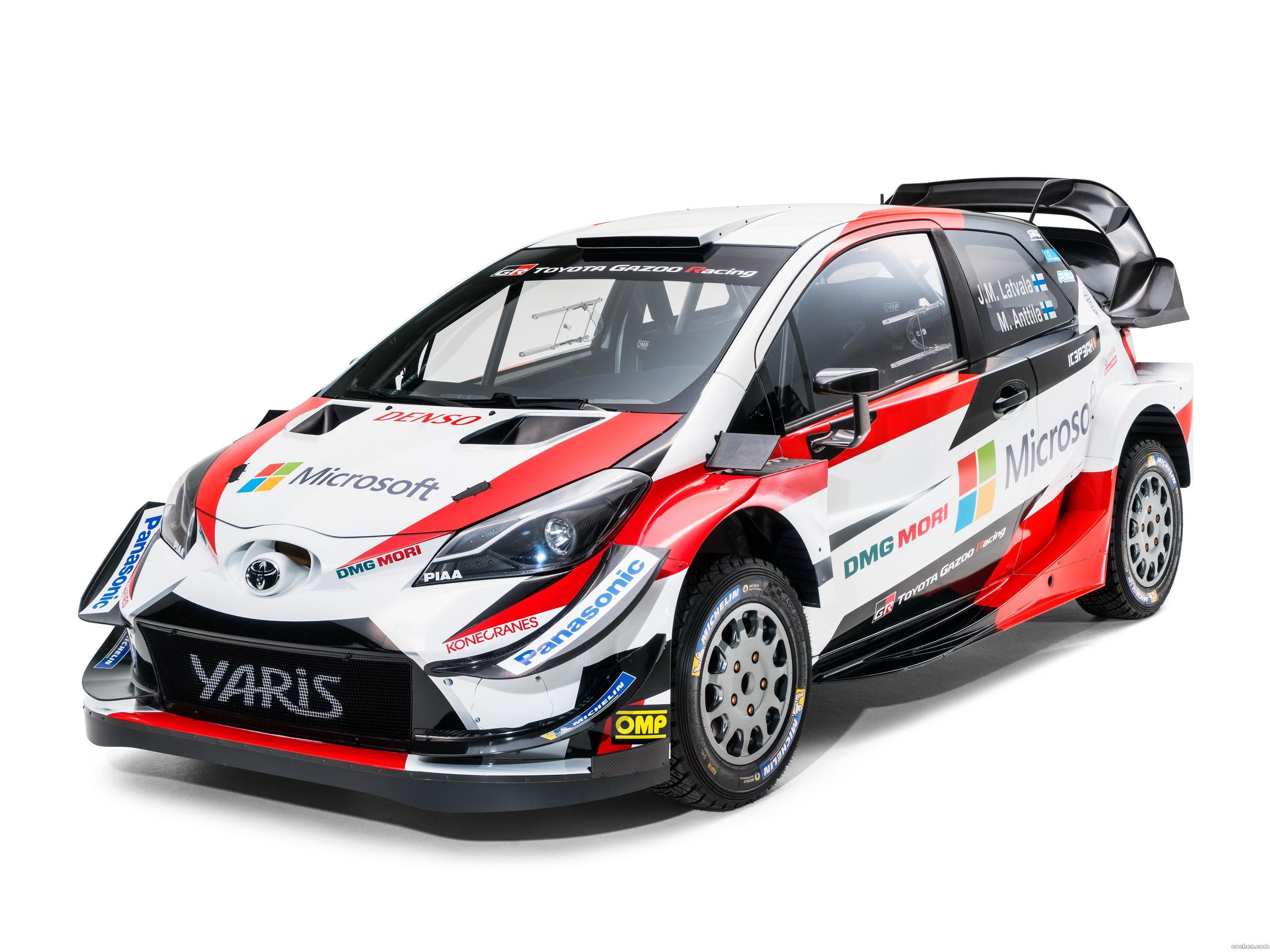 Foto 2 de Toyota Yaris WRC  2018