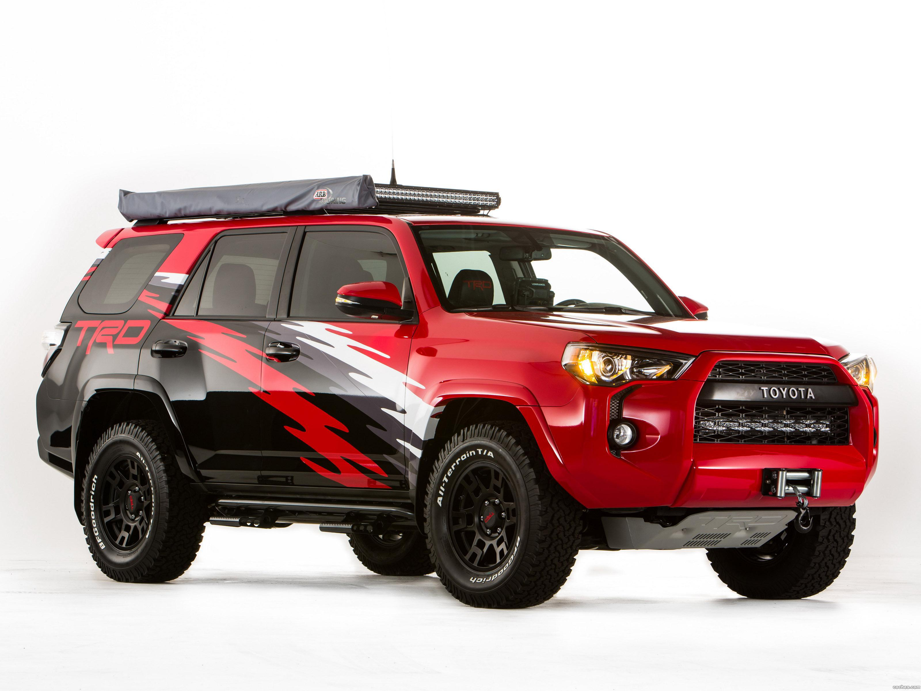 Foto 0 de Toyota TRD 4Runner Fact Sheet 2014