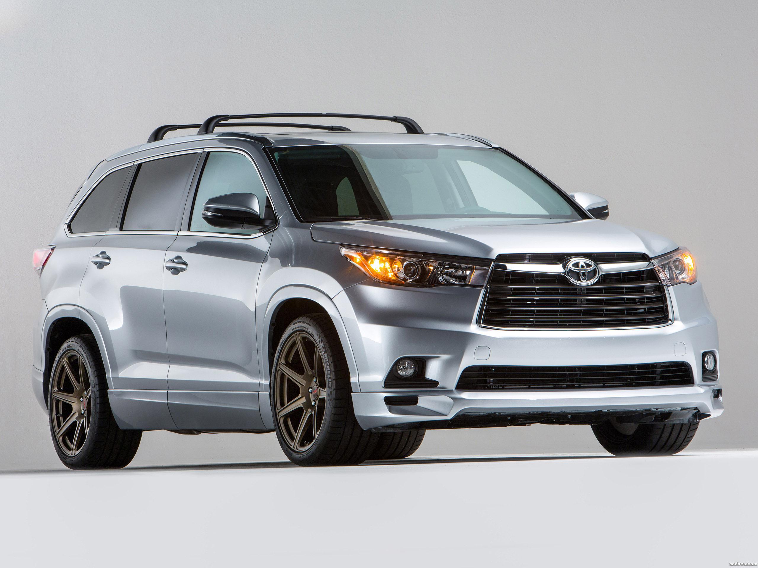 Foto 0 de Toyota Highlander TRD Sema Edition  2015