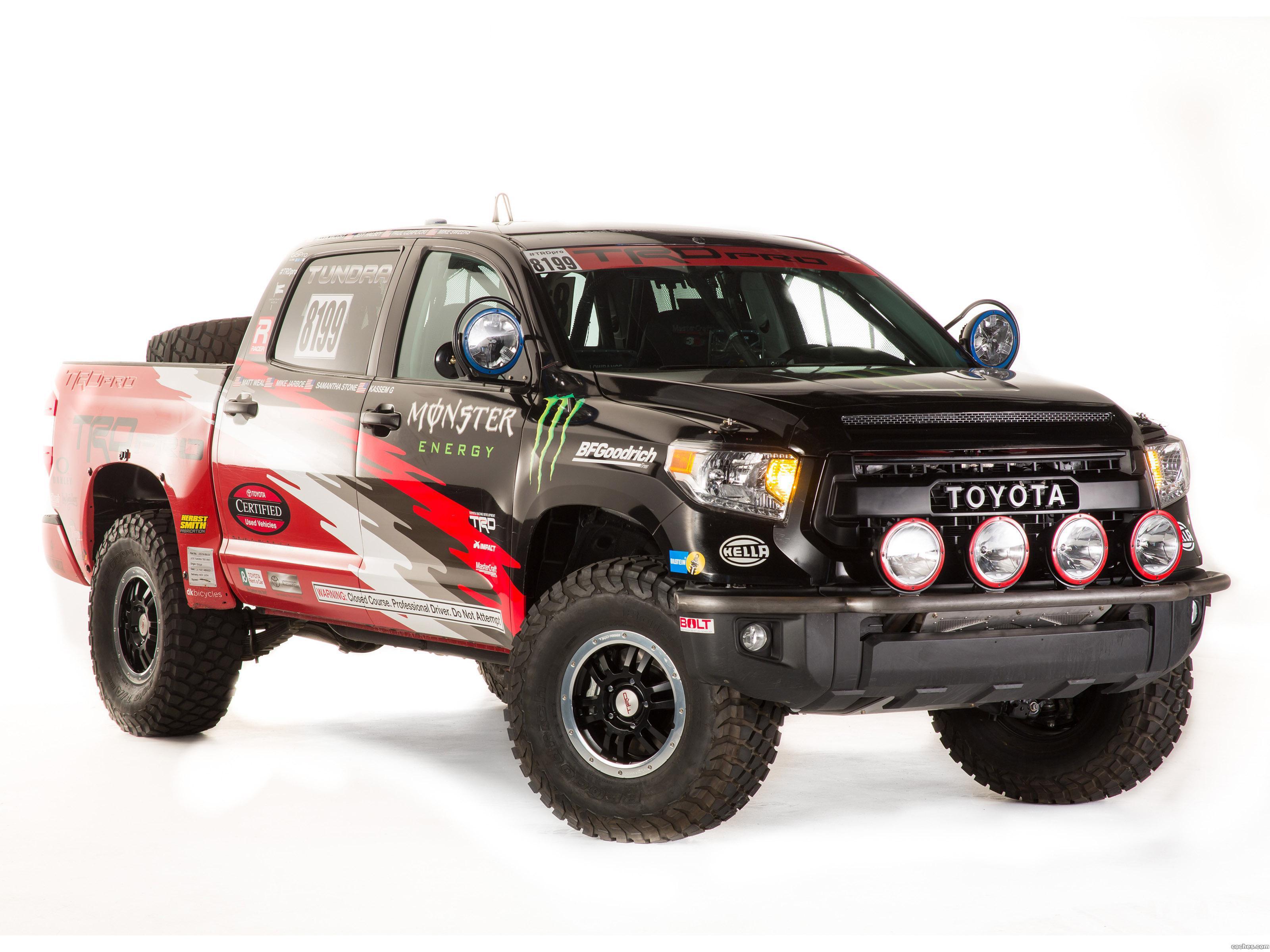 Foto 0 de Toyota TRD Tundra Pro Desert Race Truck 2014