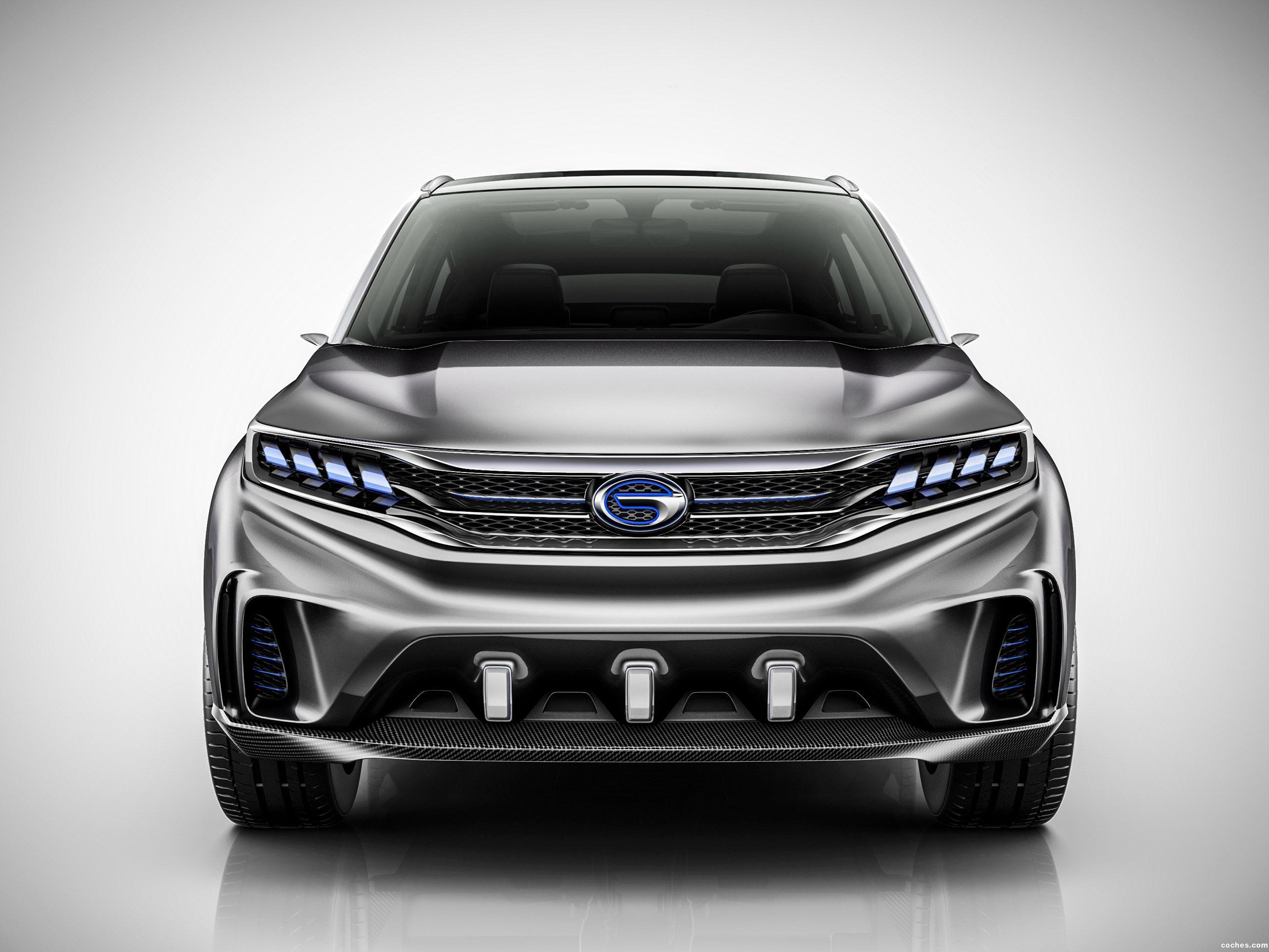 Foto 0 de Trumpchi  Ev Coupe Concept 2017