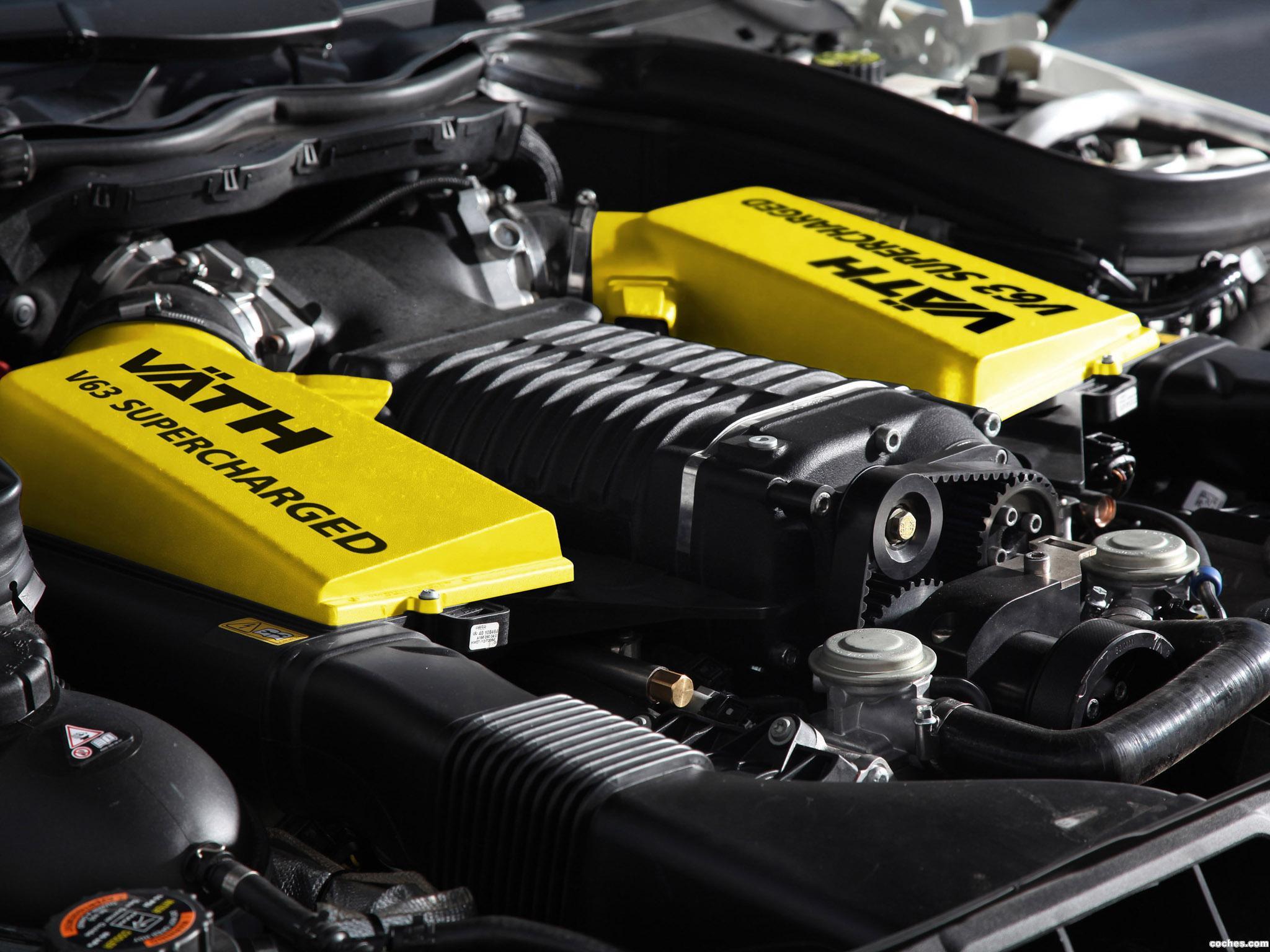 Foto 7 de Mercedes Vath AMG Clase C Coupe Black V63 Supercharged C204 2012