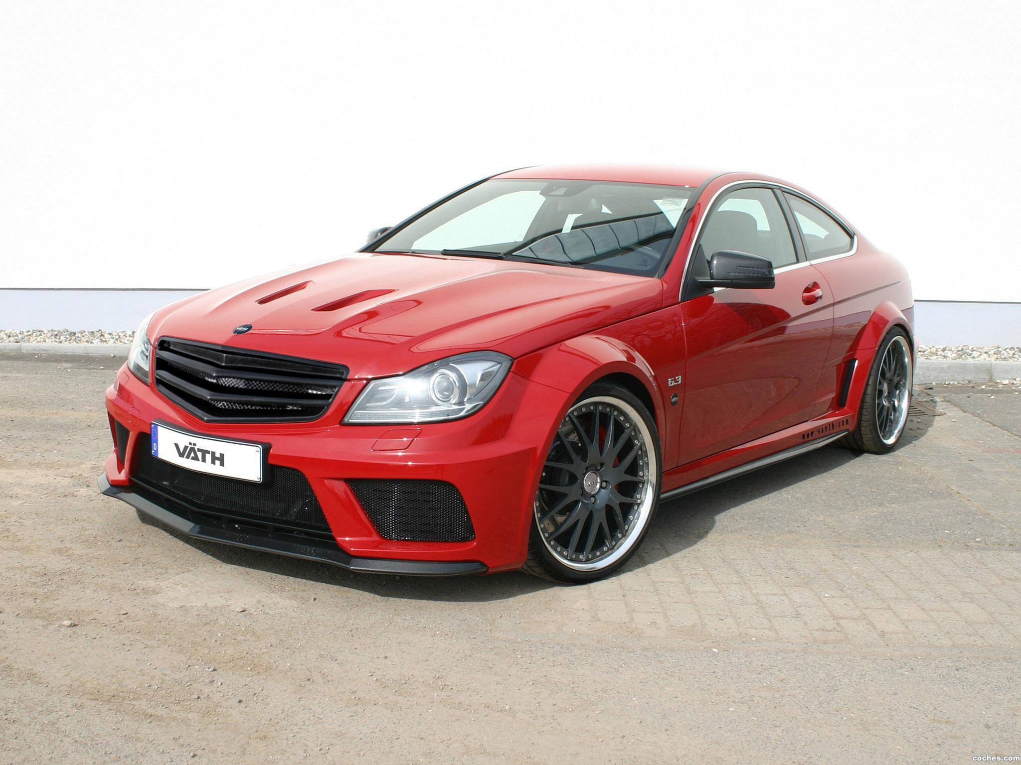 Foto 0 de Vath Mercedes AMG Clase C63 Supercharged V63 Black Series 2012