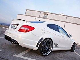 Ver foto 3 de Mercedes Vath Clase C Coupe V63 Supercharged C204 2011