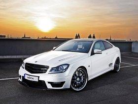 Fotos de Mercedes Vath Clase C Coupe V63 Supercharged C204 2011