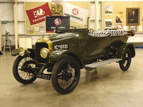 Ver foto 1 de Vauxhall D-Type Army Staff Car 1918