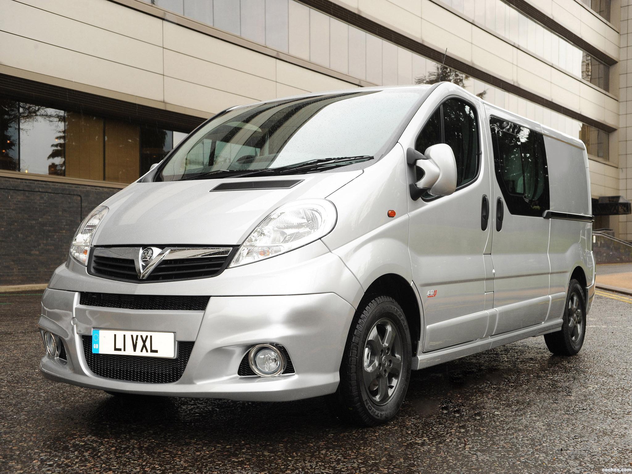 Foto 0 de Vauxhall Vivaro Combi Sportive XP 2012